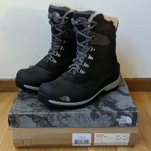 NORTH FACE Chilkat 400 Womens Winter Boots NEW